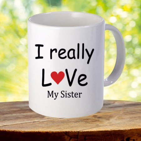 Giftsuncommon - Love My Sister Printed Mug