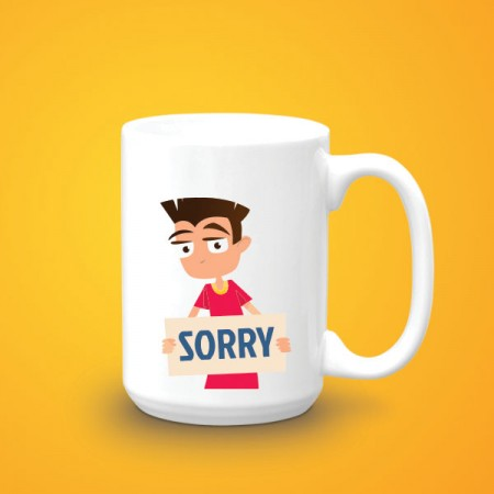 Giftsuncommon - Customized Sorry Mug