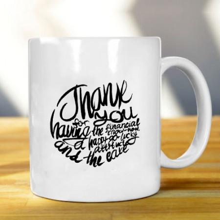 Giftsuncommon - Customized Thank You Mug