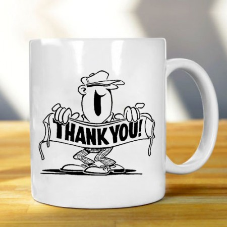 Giftsuncommon - Printed Thank You Mug