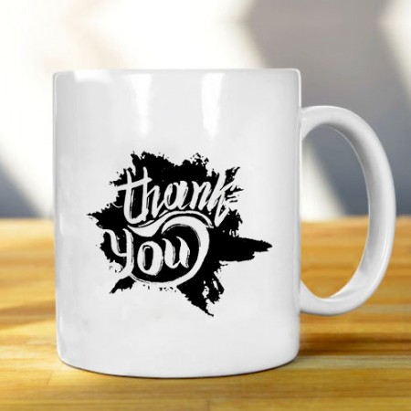 Giftsuncommon - Thank You Printed Mug