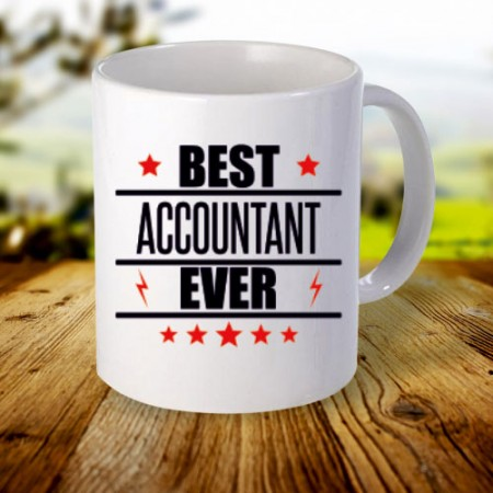 Giftsuncommon - Best Accountant Ever Printed Mug