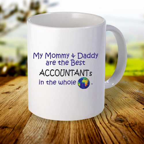 Giftsuncommon - My Mom And Dad Best Accountant Printed Mug