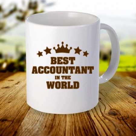 Giftsuncommon - Best Accountant Printed Mug