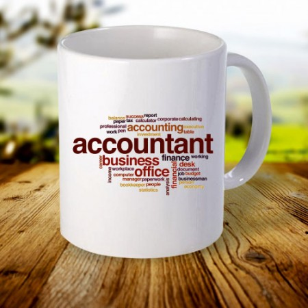 Giftsuncommon - Customized Accountant Printed Mug