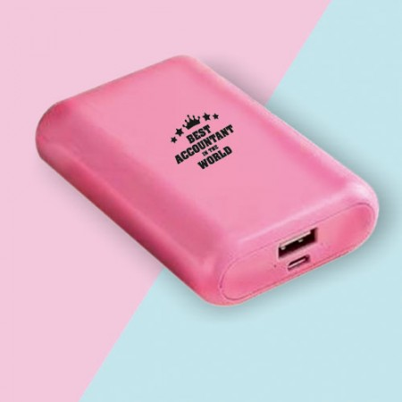 Giftsuncommon - Best Accountant Ever Printed Powerbank
