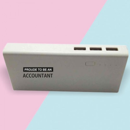 Giftsuncommon - Proud To Be Accountant Powerbank