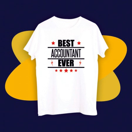 Giftsuncommon - Best Accountant Ever Printed Tshirt
