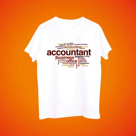 Giftsuncommon - Customized Accountant Printed Tshirt