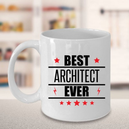 Giftsuncommon - Best Architect Ever Printed Mug