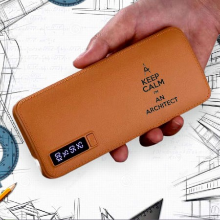 Giftsuncommon - Keep Calm I Am Architect Printed Powerbank