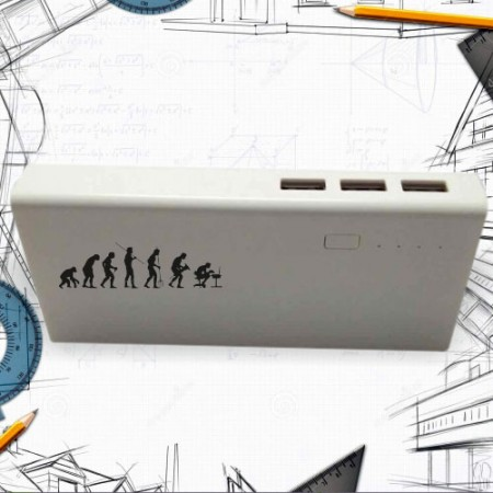 Giftsuncommon - Printed Power Bank For Architect