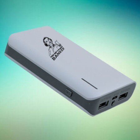 Giftsuncommon - Great Banker Printed Power Bank