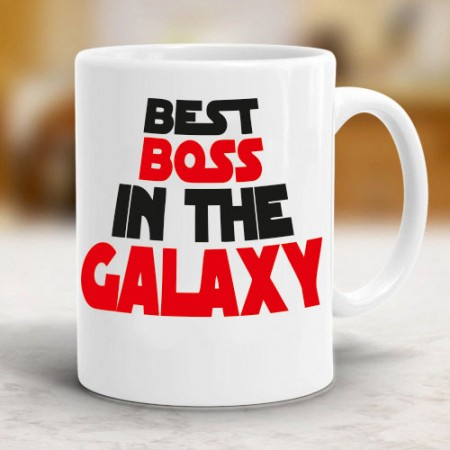 Giftsuncommon - Best Boss Galaxy Printed Mug