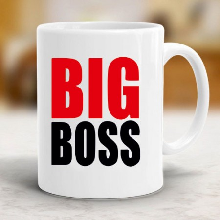 Giftsuncommon - Big Boss Printed Mug