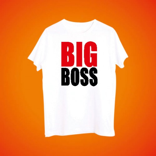 Giftsuncommon - Big Boss Printed Tshirt