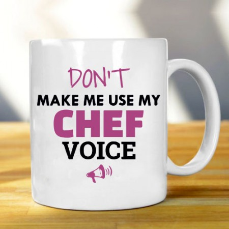 Giftsuncommon - Chef Voice Printed Mug