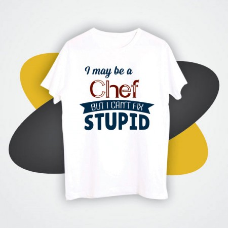 Giftsuncommon - Custom Printed Chef Tshirt