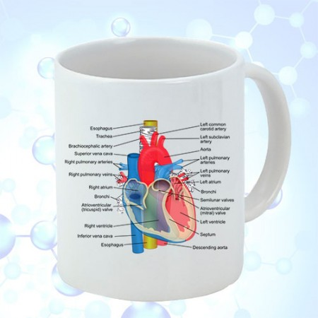 Giftsuncommon - Heart Printed Doctor Mug
