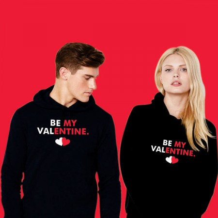 Giftsuncommon - Be My Valentine Couple Sweatshirt