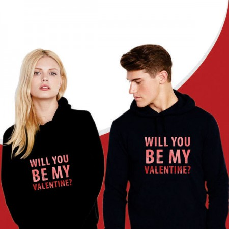 Giftsuncommon - Will You Be My Valentine Couple Sweatshirt