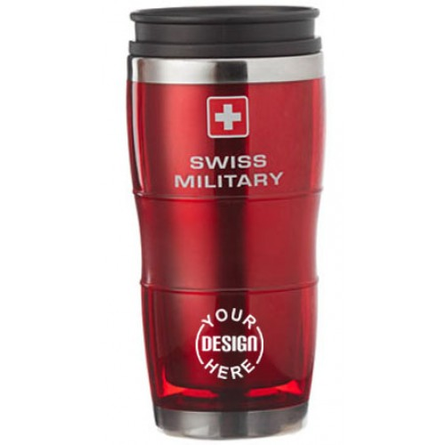 Giftsuncommon - Swiss Military 16 oz Translucent Tumbler