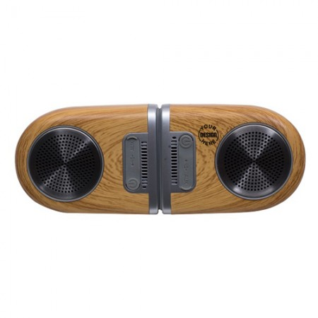 Giftsuncommon - Twin Magno Magnetic Wireless Music Speaker