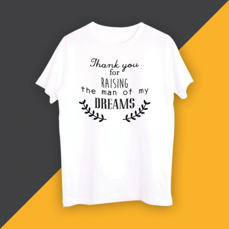 Giftsuncommon - Thank You Dreams Printed Tshirt