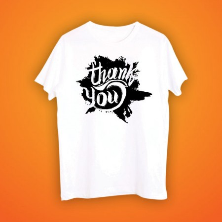 Giftsuncommon - Thank You Printed Tshirt