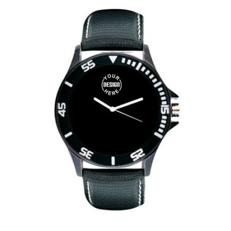 Giftsuncommon - Black Color Wrist Watch