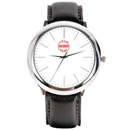 Giftsuncommon - Exclusive Silver Dial Wrist Watch