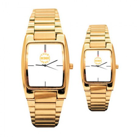 Giftsuncommon - Golden Couple Wrist Watch