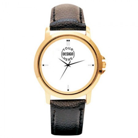 Giftsuncommon - Golden Case Wrist Watch