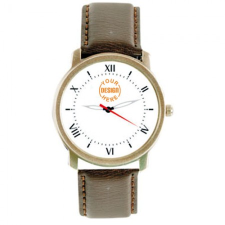 Giftsuncommon - Analog Leather Wrist Watch