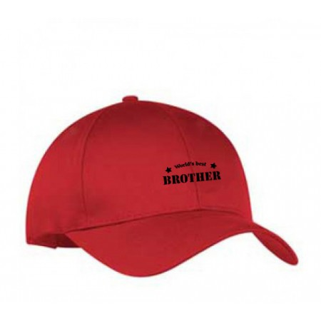 Giftsuncommon - Worlds Best Brother Printed Cap