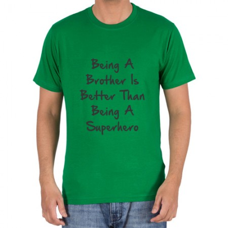 Giftsuncommon - Being A Brother Quote Print T Shirt