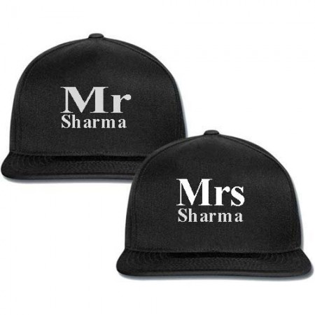 Giftsuncommon - Mr And Mrs Printed Couple Cap