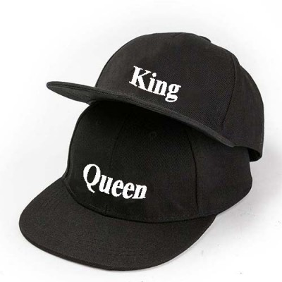 Giftsuncommon - King And Queen Printed Couple Cap