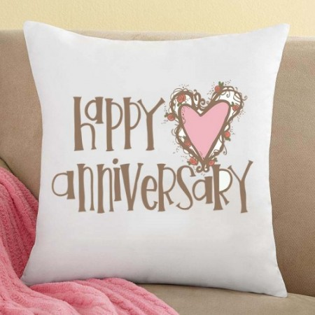 Giftsuncommon - Happy Anniversary Printed Cushion