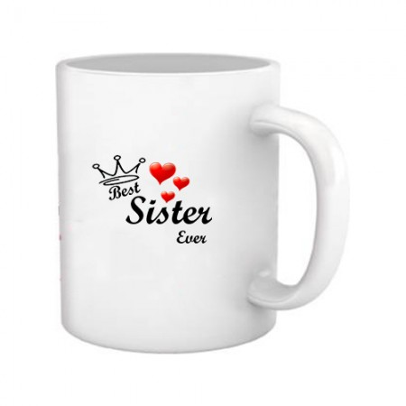 Giftsuncommon - Best Sister Ever Printed Mug