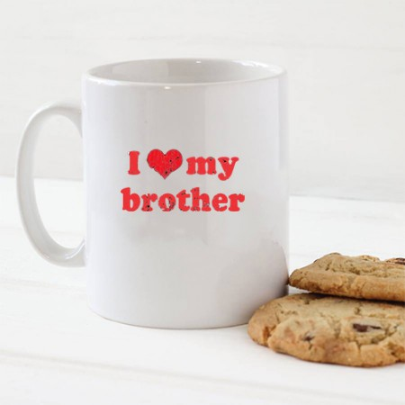 Giftsuncommon - I Love You Brother Printed Mug