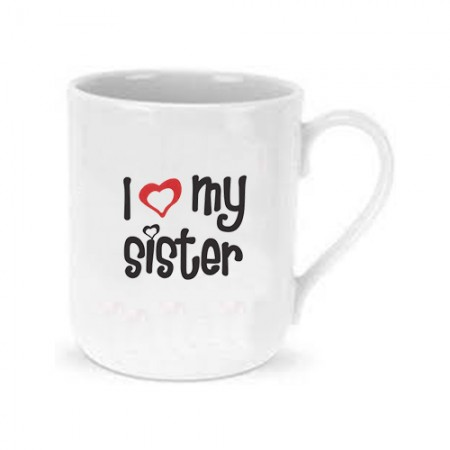 Giftsuncommon - I Love You Sister Printed Mug