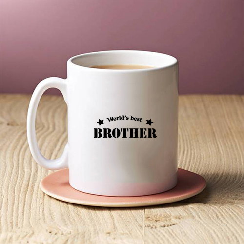 Giftsuncommon - Worlds Best Brother Printed Mug
