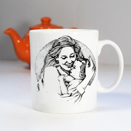 Giftsuncommon - Image Printed Mug For Mothers Day