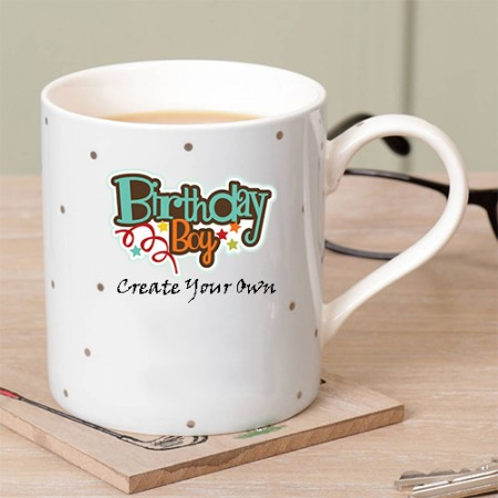 Giftsuncommon - Birthday Mug Logo Printed