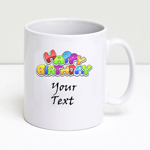 Giftsuncommon - Customized Birthday Mug Logo Printed