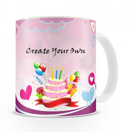 Giftsuncommon - Printed Happy Birthday Mug